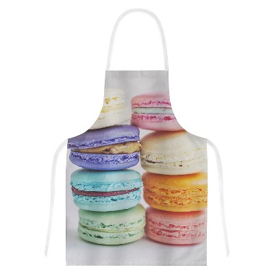 Cooking Apron Libertad Leal  I Want Macaroons  (31  X 36 )- Kess Inhouse
