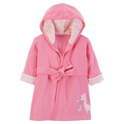 Baby Girls' Giraffe Robe - Just One You™ Made by Carter's® Pink
