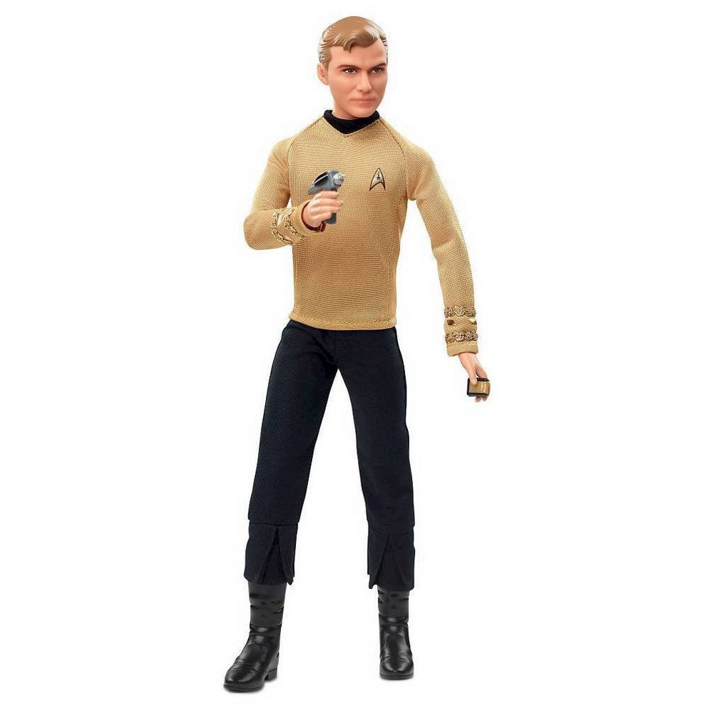 Barbie Collector Star Trek 50th Anniversary Captain Kirk ...