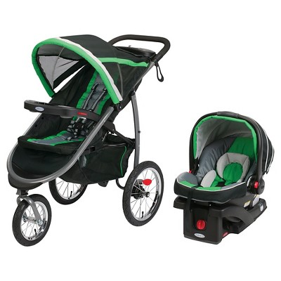 Graco® FastAction Jogger Click Connect Travel System - Fern
