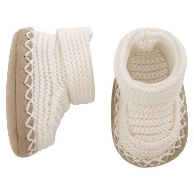 Just One You™ Made by Carter's® Baby Bootie - Oatmeal NB
