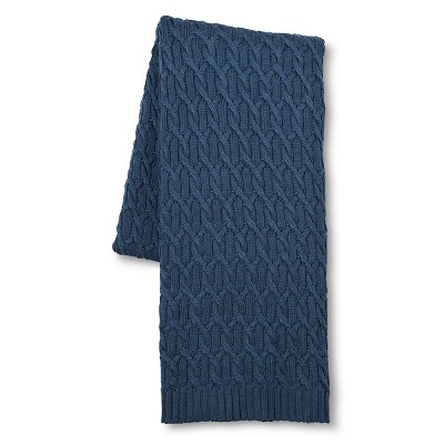 Blue Shiraz Knitted Throw (59 X79 )- Fable®