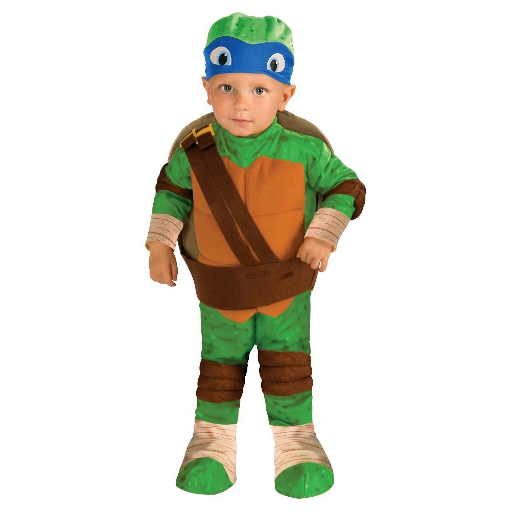 Toddler Teenage Mutant Ninja Turtles Leonardo Costume - 2T-3T, Toddler Boys, Multicolored
