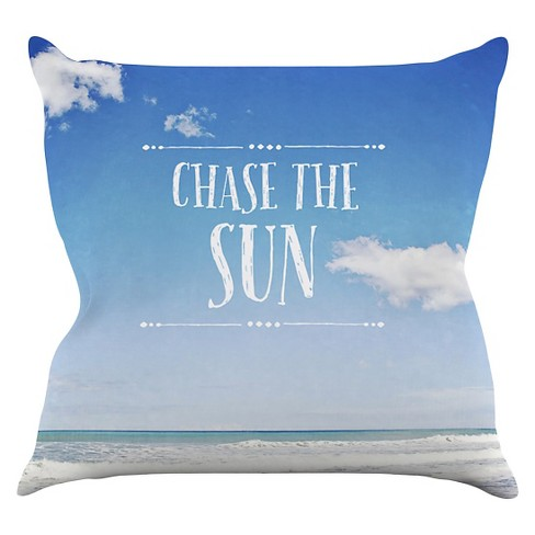 Susannah Tucker Chase the Sun Throw Pillow - image 1 of 1