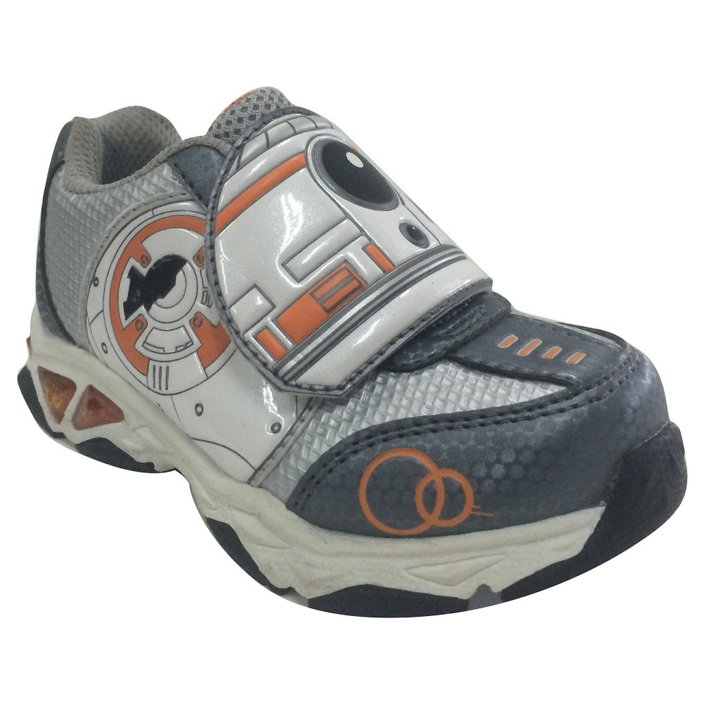 Star Wars Toddler Boys Athletic Sneakers - Gray 6