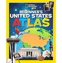 National Geographic Kids Beginner's United States Atlas (Library)