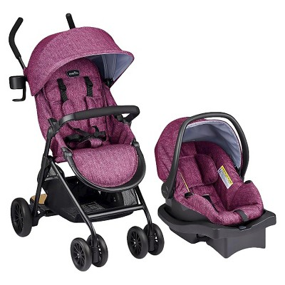 Evenflo® Sibby Travel System Raspberry