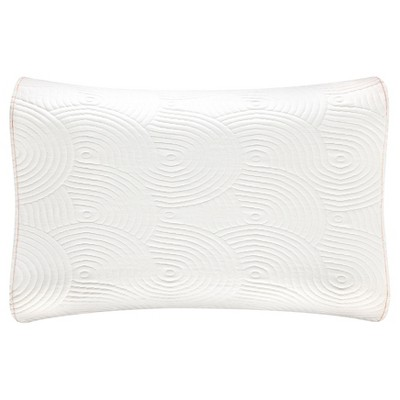 tempurpedic contour side to side bed pillow white - Temperpedic