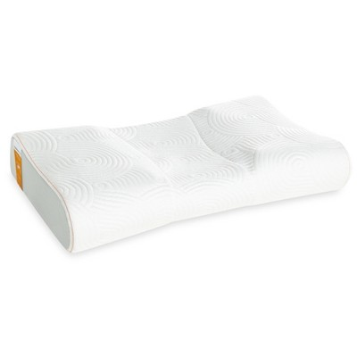 Tempur-Pedic® Contour Side to Back Bed Pillow - White