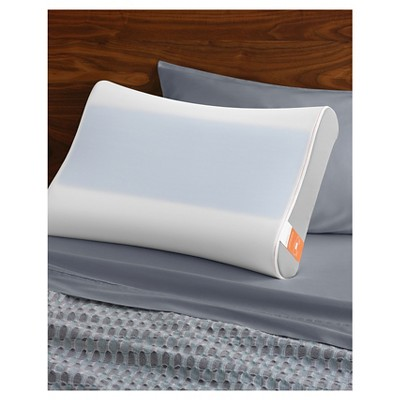tempurpedic contour side to side breeze bed pillow white - Temperpedic Bed