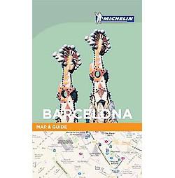 Michelin Map & Guide Barcelona ( Michelin Map & Guide) (Paperback)
