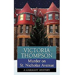 Murder on St. Nicholas Avenue (Large Print) (Library) (Victoria Thompson)
