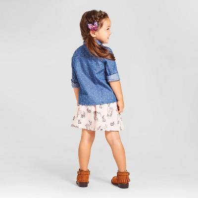 Toddler Girls' Top And Bottom Set Genuine Kids from OshKosh Blue 6, Toddler Girl's