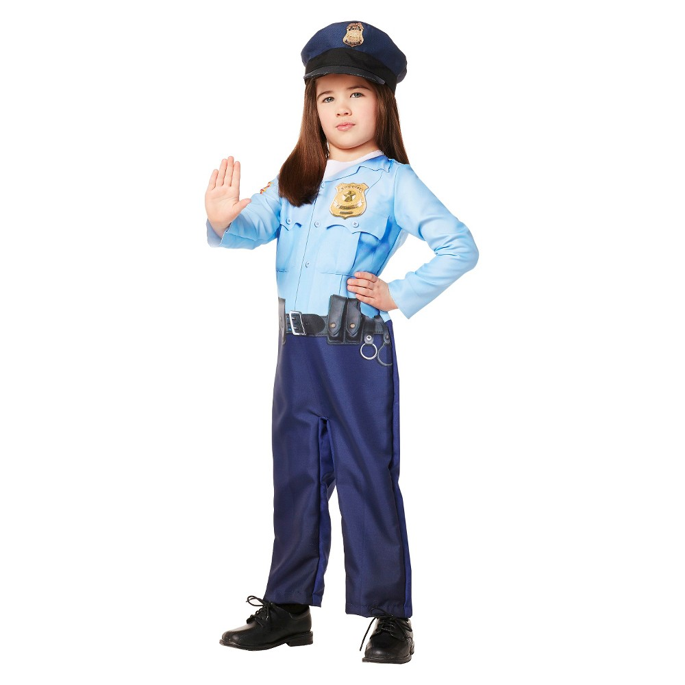 Toddler Police Officer Costume - 4T-5T - Hyde and Eek! Boutique, Toddler Unisex, Multicolored