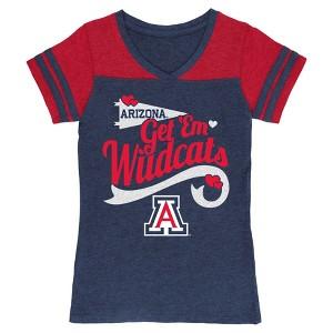 NCAA Arizona Wildcats Girls T-Shirt - L, Women