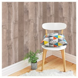 Devine Color Reclaimed Wood Peel & Stick Wallpaper - Twig and Buck