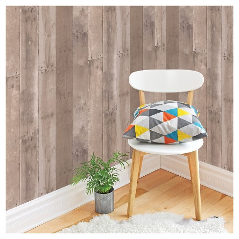 Devine Color Reclaimed Wood Peel & Stick Wallpaper - Twig and Buck - image 1 of 10