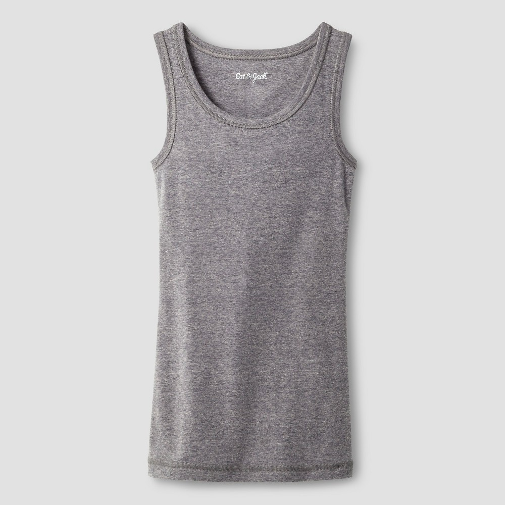 Plus Size Girls' Favorite Tank - Cat & Jack Heather Gray L Plus plus size,  plus size fashion plus size appare
