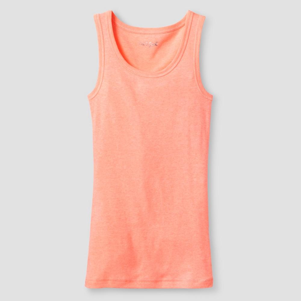 Plus Size Girls Favorite Tank - Cat & Jack Peach (Pink) M Plus