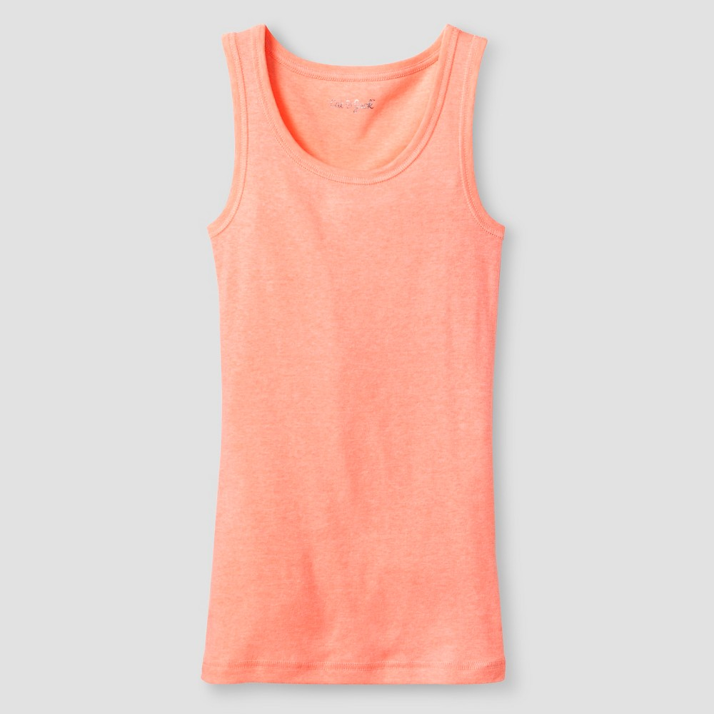 Plus Size Girls' Favorite Tank - Cat & Jack Peach (Pink) XL Plus