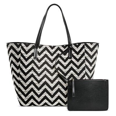 16d0e37d64 Womens Reversible Tote Handbag Black White – Merona™ – Target ...