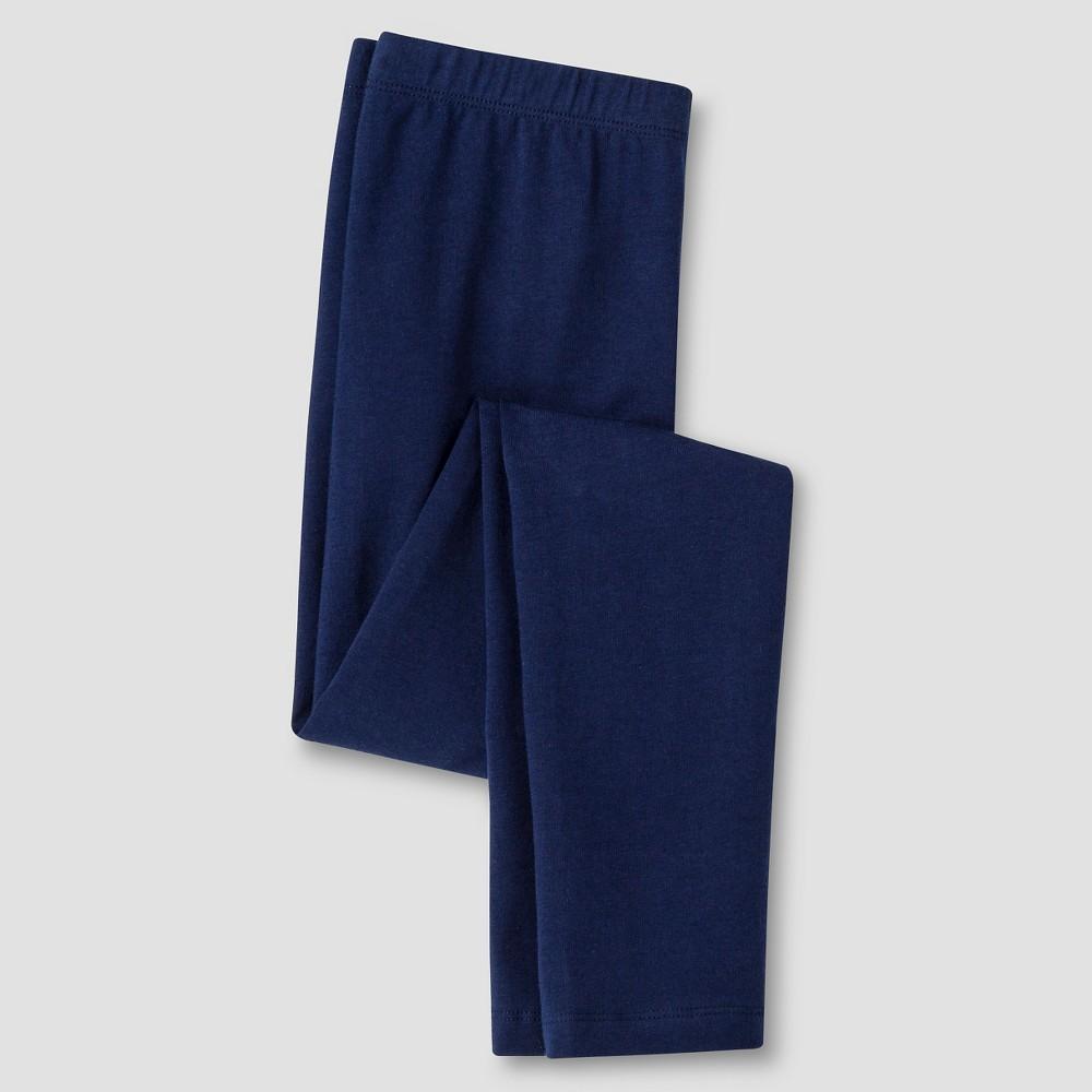 Girls Leggings - Cat & Jack Navy (Blue) S