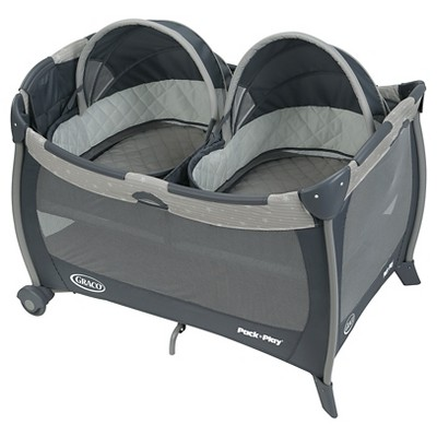 Graco® Pack 'n Play Playard with Twin Bassinets