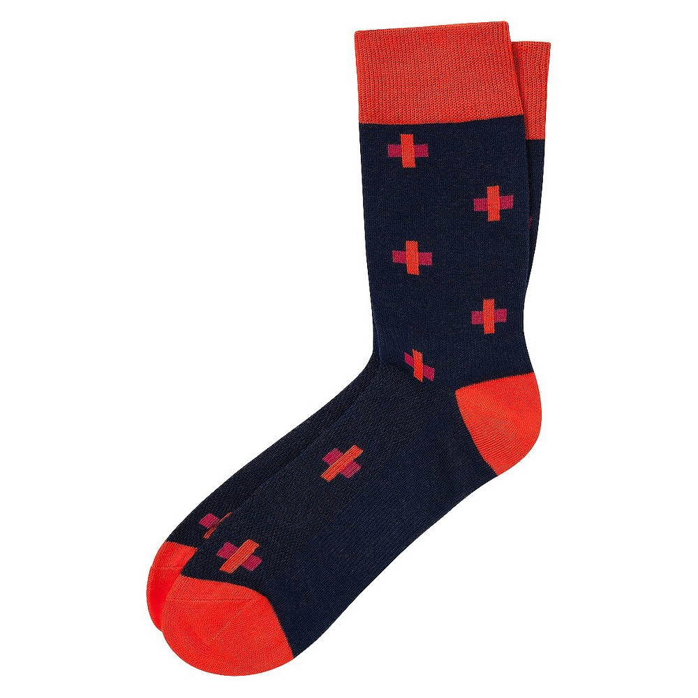 Men's Pair of Thieves Performance Casual Socks Thaddeus Constantine Iii 8 – 12, Size: 8-12, Multi-Colored
