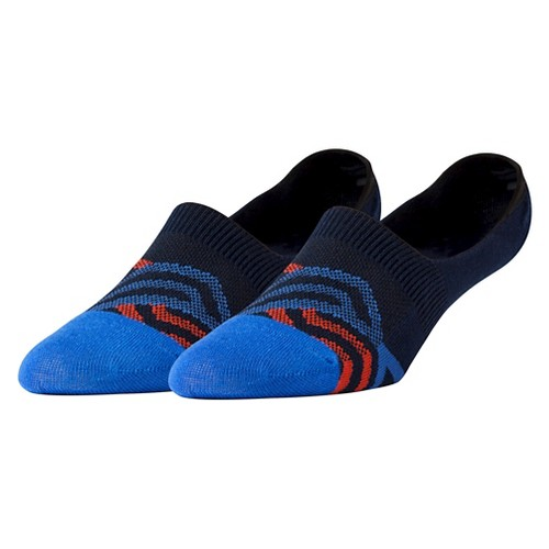 Men's Pair of Thieves Performance Casual Socks Invisible Forces 8 - 12, Size: 8-12, Multi-Colored