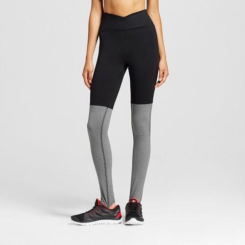 Women's Freedom Stirrup Leggings Black/Ebony Heather XL - C9 Champion