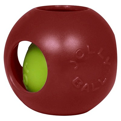 Jolly Pets Teaser Ball Pet Toy - Red - 8