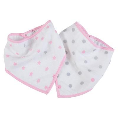 aden® by aden + anais® Bandana Bib - Darling Pink