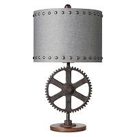Industrial Gear Table Lamp