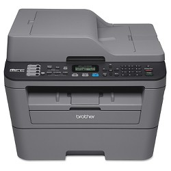 Brother MFC-L2700DW Compact, Wireless Monochrome Laser All-in-One Printer With Duplex Printing - Grey (MFCL2700DW)