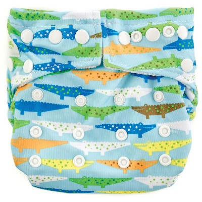 Bumkins Snap-in-one Cloth Diaper, Crocs