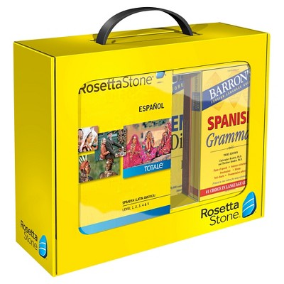 Home/office Software Rosetta Stone Rosetta Stone/Barron's BNDL-Spanish Latin America Levels 1-5 v4 by Rosetta Stone