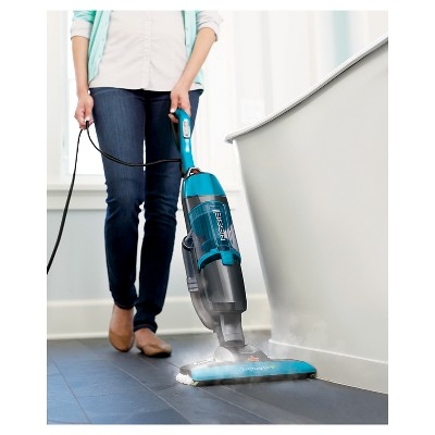bissell symphony pet allinone vacuum and steam mop disco teal 1543t - Bissell Vacuums