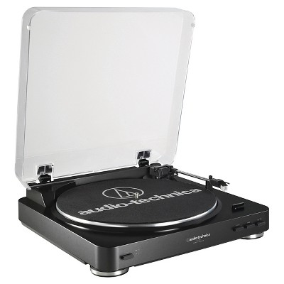 Audio Technica ATLP60 Fully Automatic Stereo Belt Drive Turntable - Black