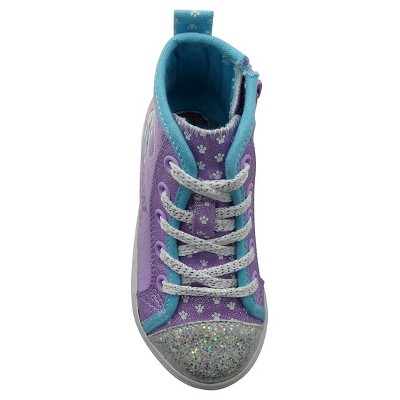 Toddler Girls' Paw Patrol High Top Sneakers - Purple 6, Toddler Girl's