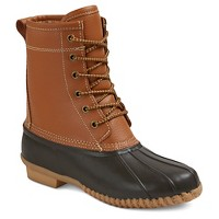 Women's Hudson Leather Duck Boots - Merona. opens in a new tab.