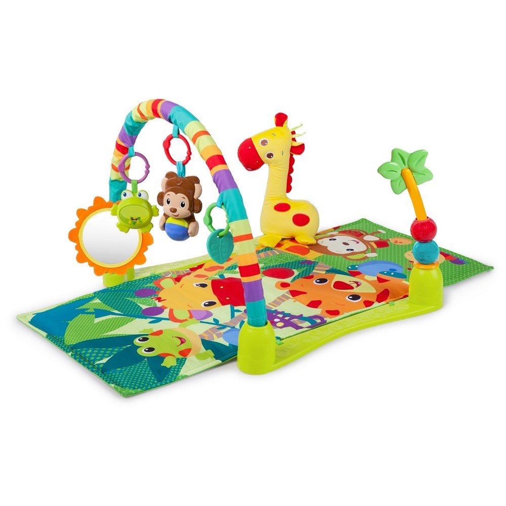 Bright Starts Jungle Discovery Activity Gym - Multi-colored