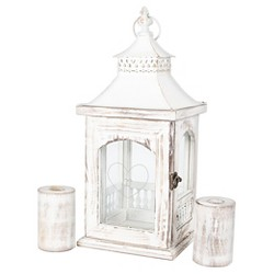 Monogram Heart Rustic Unity Lantern with 2 Candle Holders - Cathy's Concepts®