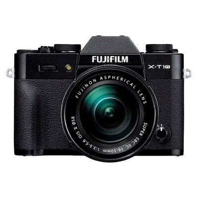 Compact System Camera Bundle Fujifilm Black