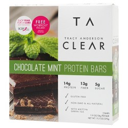Tracy Anderson Protein Bar - Chocolate Mint - 5ct