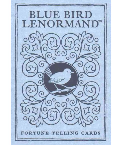 Bluebird Lenormand : Fortune Telling Cards (Paperback) - image 1 of 1