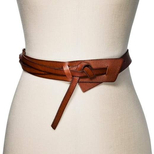 s wide knot belt brown mossimo supply co