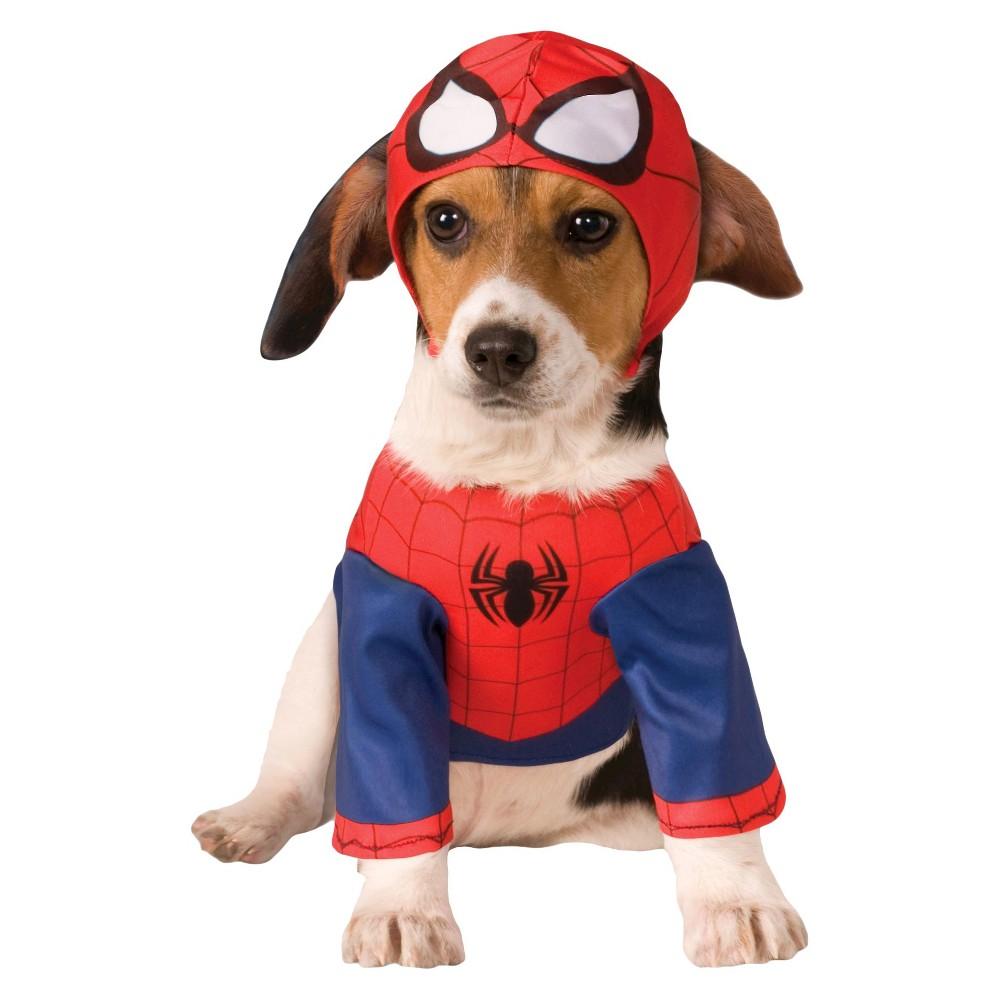 Rubie's Spider-Man Pet Costume - XL, Multicolored