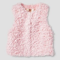 Baby Girls' Fur Vest Genuine Kids from Oshkosh Pink 12M-18M. opens in a new tab.