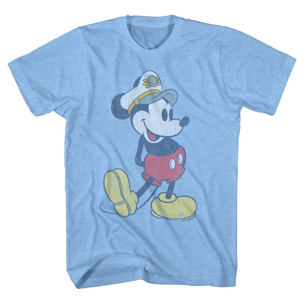 Boys' Mickey Mouse T-Shirt - Light Blue S