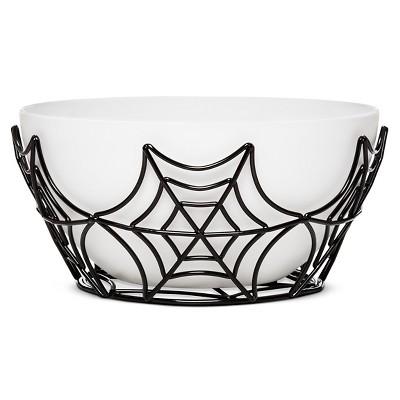 Halloween Spiderweb Serving Medium Bowl - Spritz™